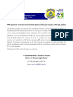 PRF Apreende Maconha Que Seguia Para o RJ