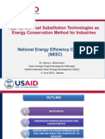 Appropriate Fuel Substitution Technologies as Energy Conservation Method for Industries - Hanny Berchmans