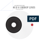 50 MINOR II v I Bebop Lines by JK Chang