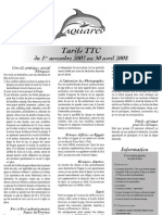 tarifs 2007-2008-Aquarev