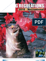 2010 Recreational Fishing Regulations