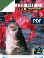 2010 Recreational Fishing Regulations