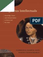 Indigenous Intellectuals edited by Gabriela Ramos and Yanna Yannakakis