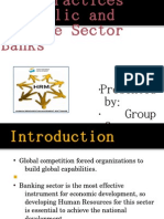 Presentation -private vs public banks :hr policy
