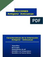reacción antigeno anticuerpo