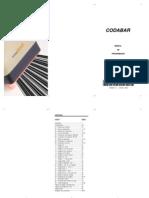 Manual Codabar V10