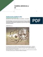 Teorias de modelos atómicos y antecedentes