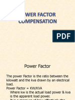 Power Factor Compensation
