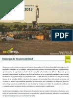 Resultados Operativos y Financieros Ecopetrol