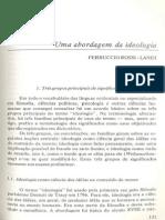 Uma Abordagem Da Ideologia Rossi-Landi