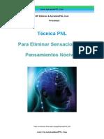 Técnica PNL Para Eliminar Pensamientos Nocivos- Curso Autoestima PNL