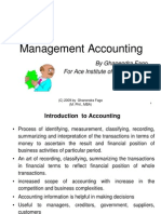 Introudction to Management Accounting Revised