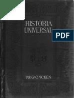 Historia Universal - por G. Oncken - Tomo 28 - Federico el Grande - Primera Parte - Sección Tercera