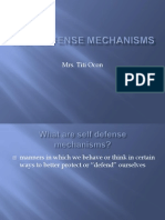 Self Defense Mechanisms