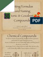 Chemical Formulas Keynote