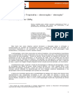 DINIZ, Julio - Antropogafia e Tropicalia