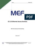 CE 2-0 Ethernet Access Services Paper 2013021 2013-10-21
