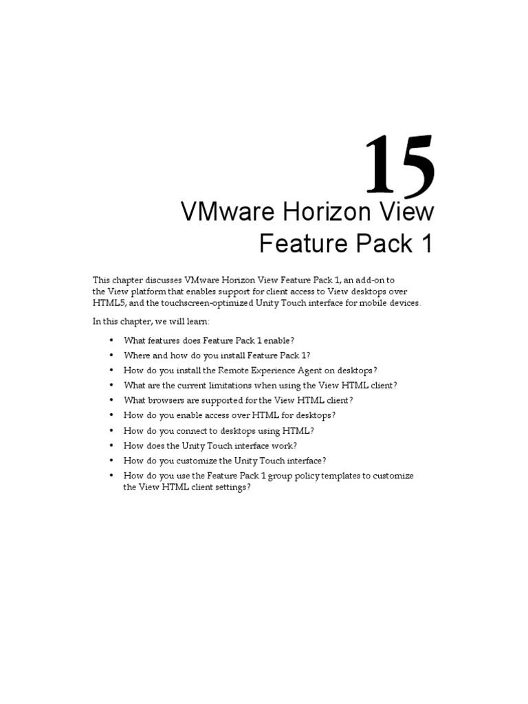 7966EN Chapter15 VMware Horizon View Feature Pack 1 | Group