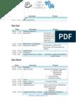 AILT&W 2014 Itinerary