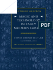 Anthony Grafton-Magic and Technology in Early Modern Europe (2002)