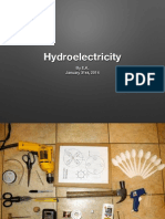 Hydroelectricity Silde show