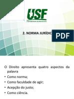 2. NORMA JURÍDICA