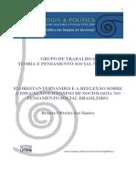 FLORESTAN FERNANDES E A REFLEXÃO SOBRE A EDUCAÇÃO