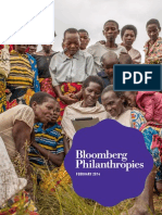Bloomberg Philanthropies Annual Report 2013-2014