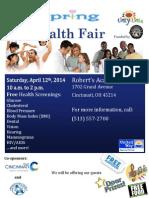 Spring Health Fair - Santa Maria