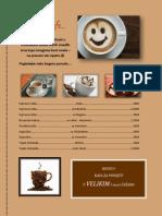 Cjenovnik U Svijetu Kafe (vjezba tabulatori)