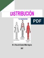 Distribucion y Union a Proteinas FARMACOLOGIA
