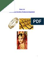 Internship Report on Gold in Bangladesh2