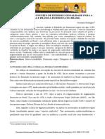 [Cristiano Rodrigues] Conceito de Interseccionalidade Para o Feminismo No Brasil