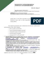 Cinco Pressupostos Contraterroristas - SILVA JR., Nelmon J.