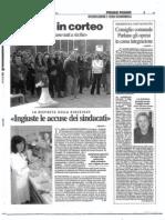 Il Giorno - Risposta 28 ottobre 2009