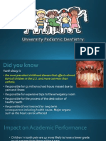 UB Pediatric Dentistry Report 3-14