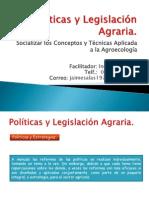 Políticas y Legislación Agraria per
