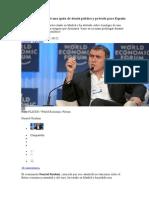 Roubini 2012 05 25 VP - Nouriel Roubini pide una quita de deuda pública y privada para España