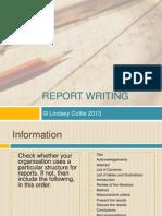 reportwritingppt-130915182217-phpapp01