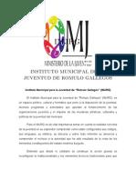 Instituto Municipal Para La Juventud de Romulo Gallegos-1