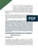 CONCOMITANCIAS EXTRAÑAS DEL 11A Y EL DIÁLOGO…