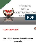 Regimen de La Contratacion1