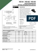 H21A1- Sensor Optico Barreira