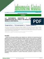 La enfermera obstetra y la humanizacion del parto-Revistaenfermeriaglobal
