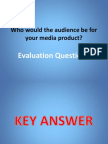 Evaluation Question 4 Presentation