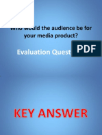 Evaluation Question 4 Presentation