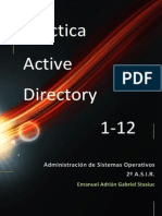 Activedirectory Practica