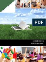 Catálogo Colegios IKNX Ingenieria