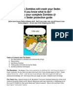 Passover and the Zombie Apocalypse V2