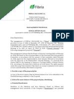 Management's proposal